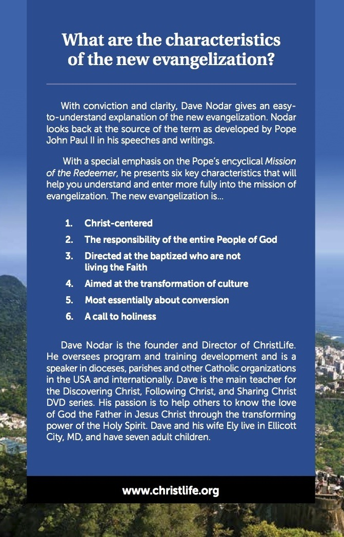 Characteristics of the New Evangelization Booklet (2nd edition)