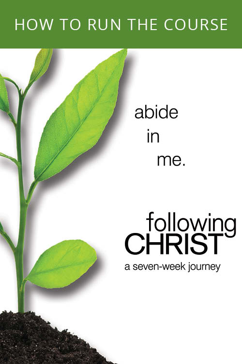 Following Christ How to Run the Course Guide