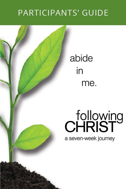 Following Christ Participant's Guide