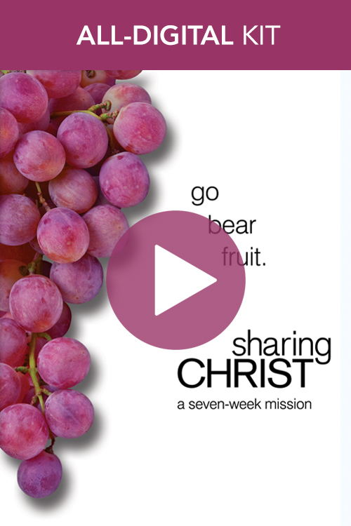 Digital Sharing Christ Kit: On-Demand Videos and Printing License